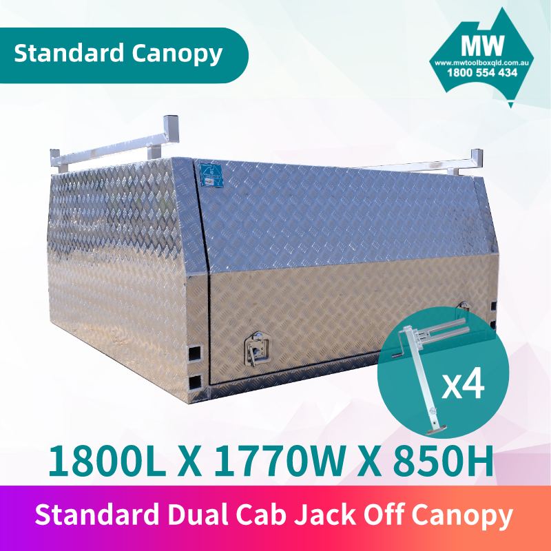 Dual Cab Jack Off Canopy-1