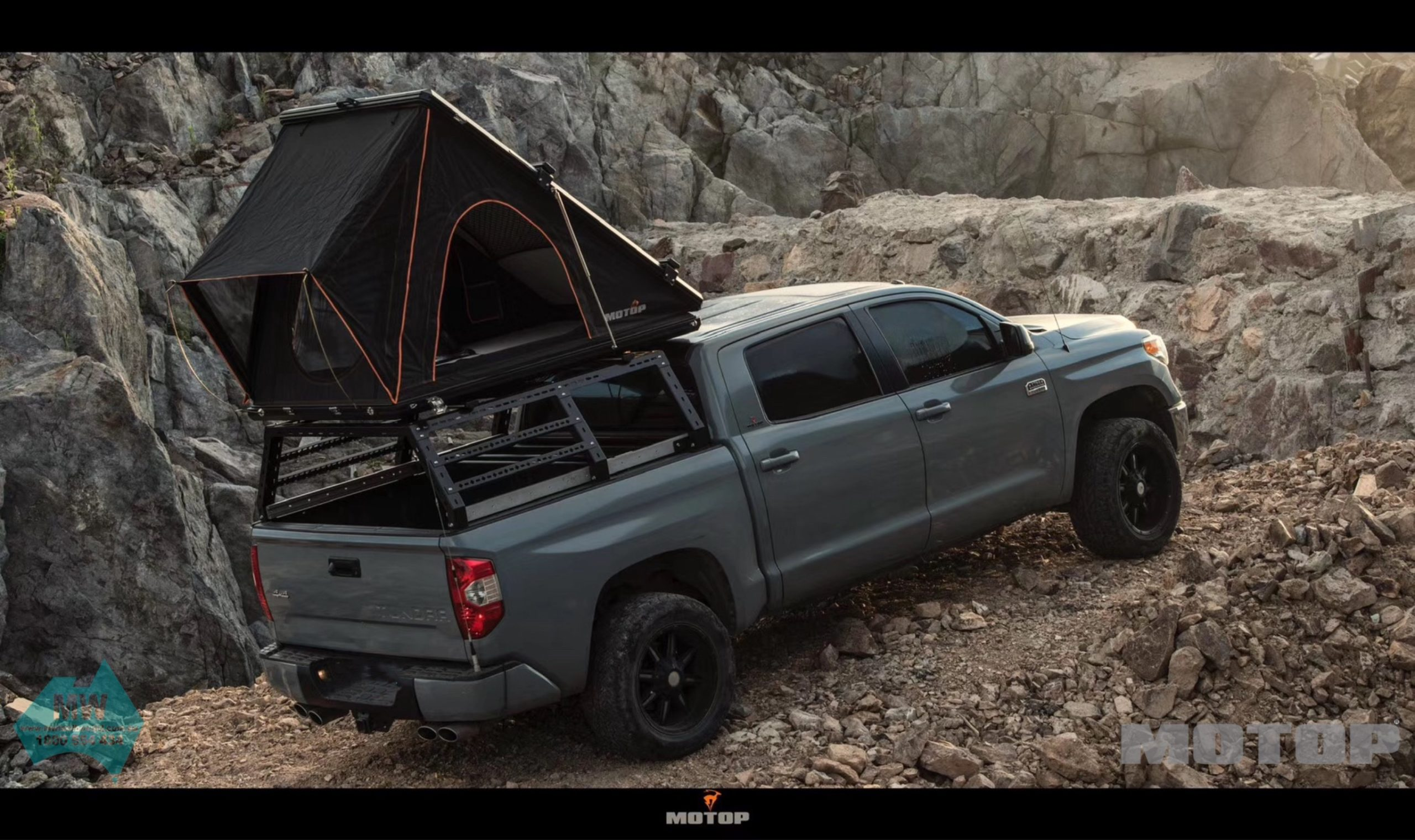 Build A Toyota >> Roof Top Tent – MW Toolbox