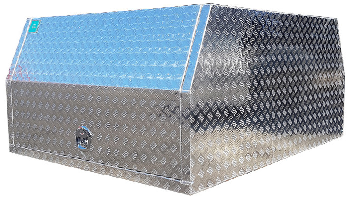 checker plate partial canopy