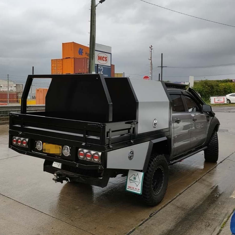 FULLY CUSTOM BUILT TRAY AND Partial CANOPY - 2 (1)