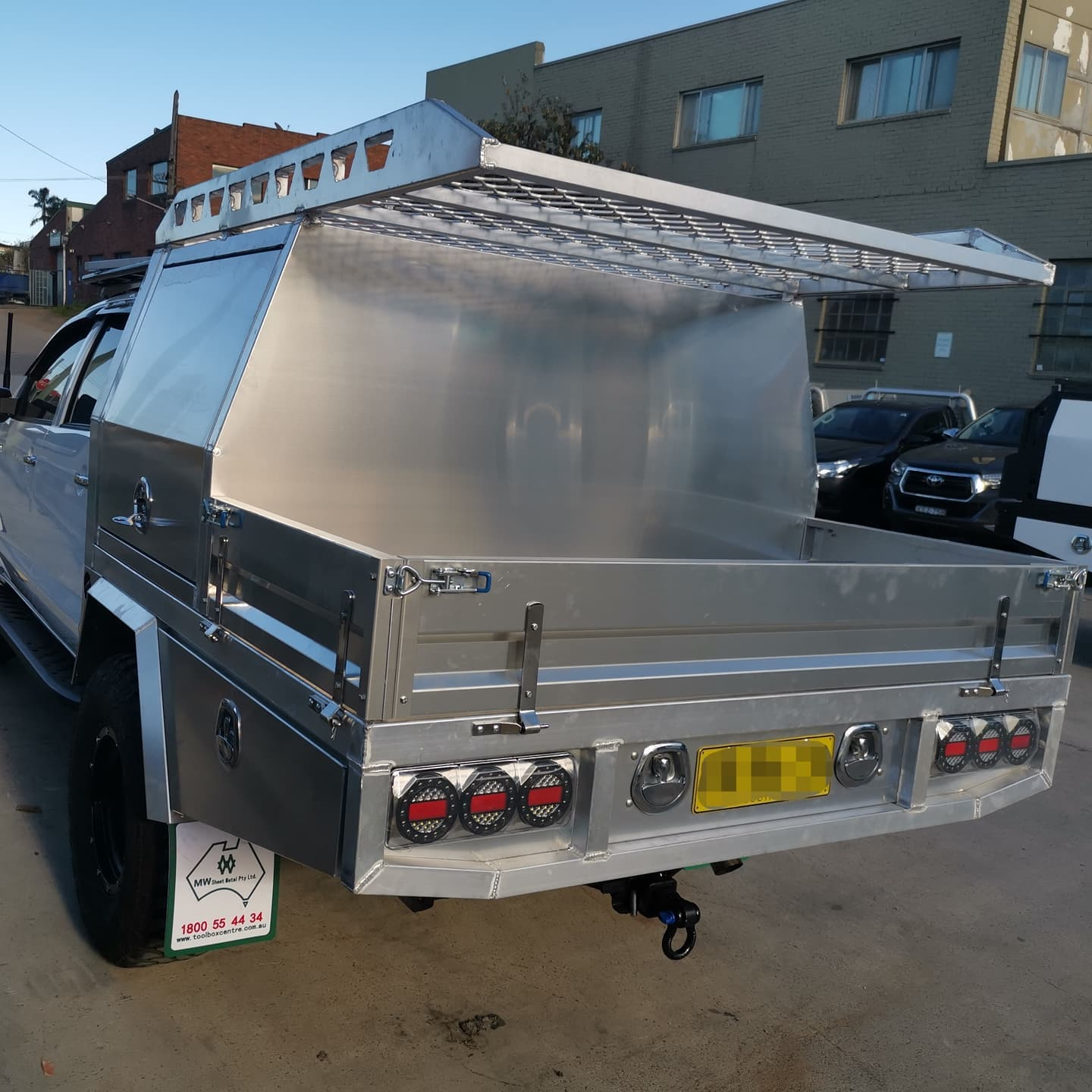 FULLY CUSTOM BUILT TRAY AND Partial CANOPY - 6 (1)