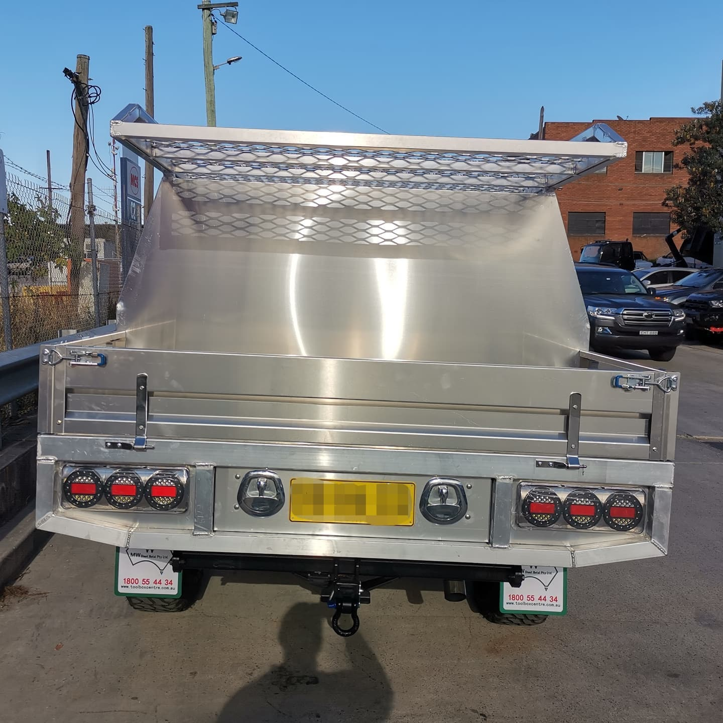 FULLY CUSTOM BUILT TRAY AND Partial CANOPY - 6 (8)
